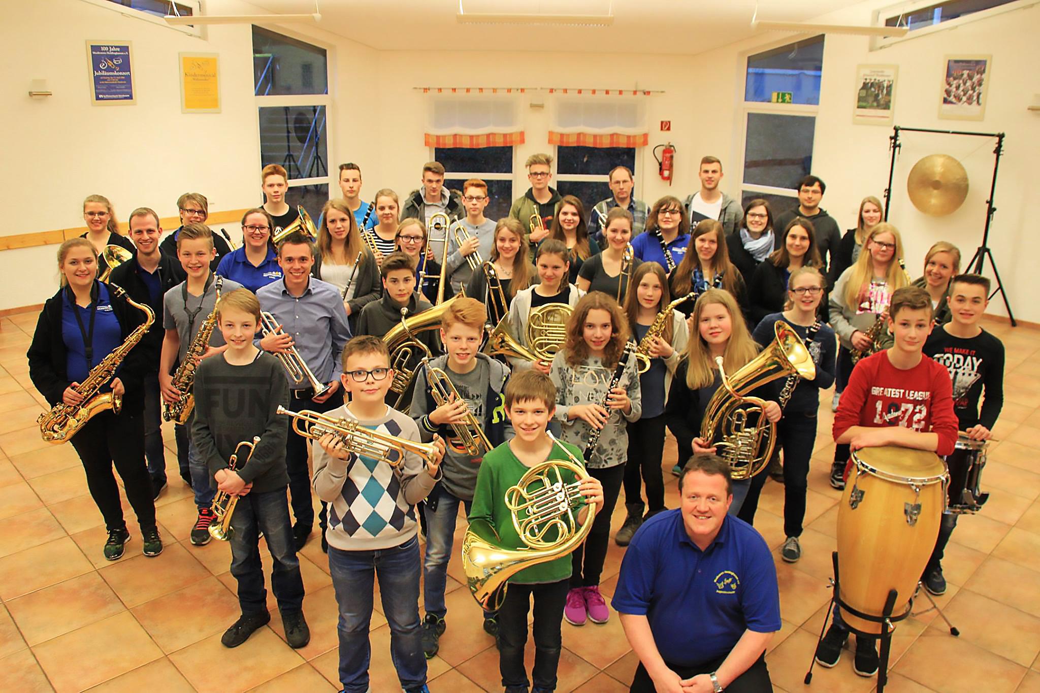 Jugendarbeit - Musikverein Heddinghausen